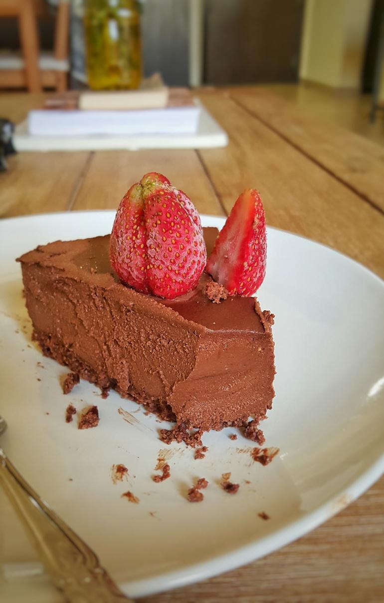 vegan spiced chocolate tart 2