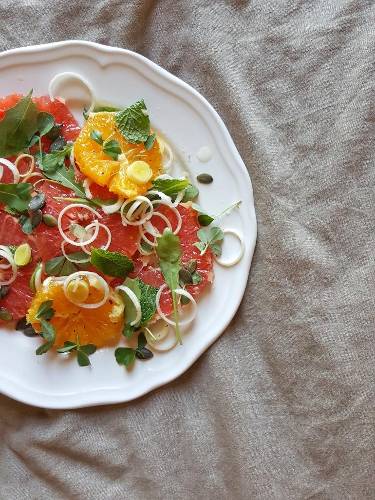 Citrus Salad StraightupBananas